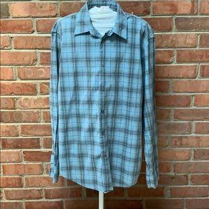 John Varvatos Star USA Slim Fit Dress Shirt Large